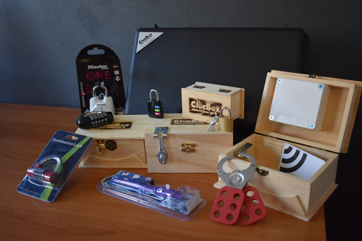 escape room edukacijski set
